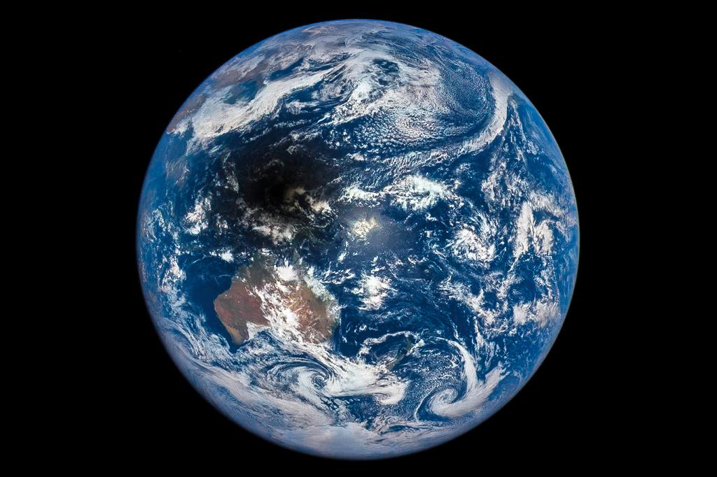 Créditos da imaxe: NASA, NOAA/DSCOVR