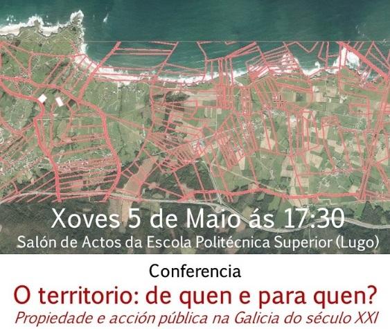 O acto desenvorase no salón de actos da Escola Politécnica Superior de Lugo.