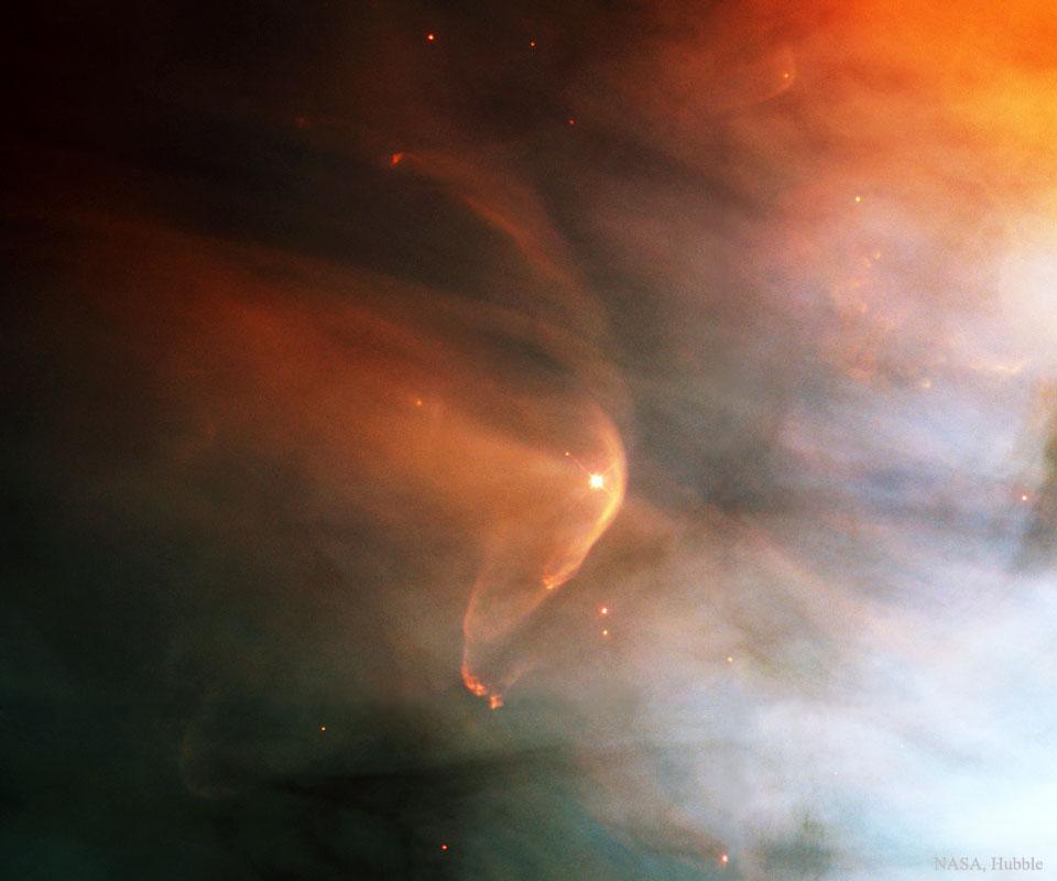 Créditos: Hubble Heritage Team (AURA / STScI), C. R. O'Dell(Vanderbilt U.), NASA