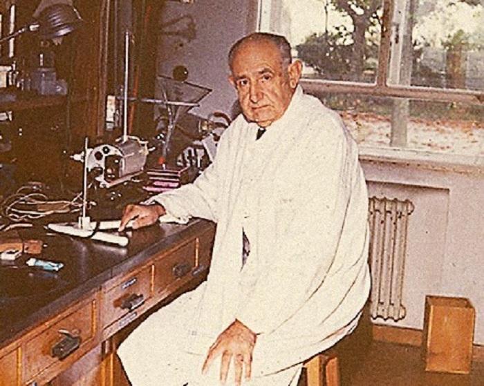 Ignacio Ribas, no laboratorio.