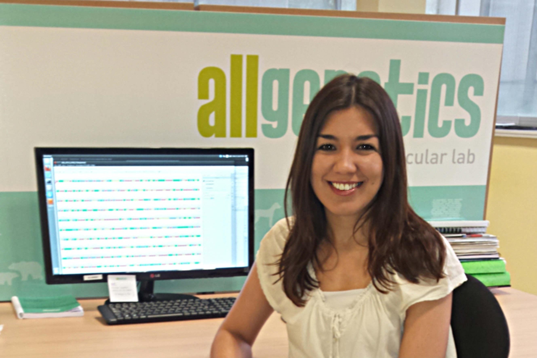 Verónica Rojo, directora da división corporativa AllGenetics Analytics.