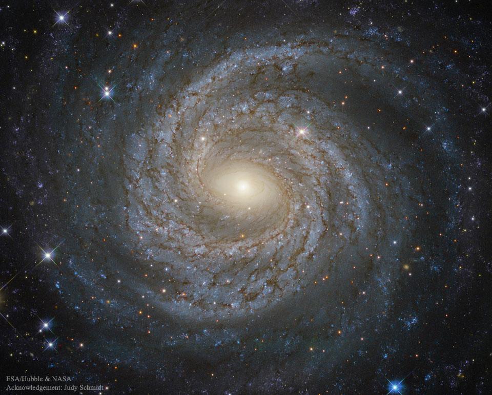 Créditos da imaxe: ESA/Hubble e NASA; Agradecementos: Judy Schmidt (Geckzilla)