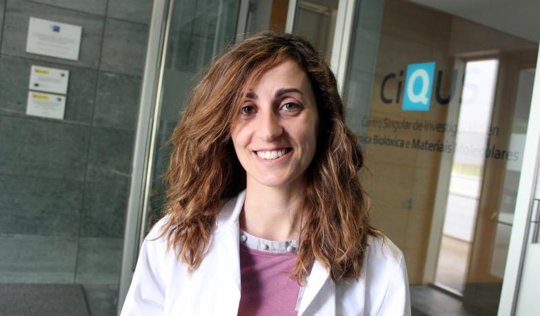 Noelia Casanova, investigadora do CiQUS da USC.