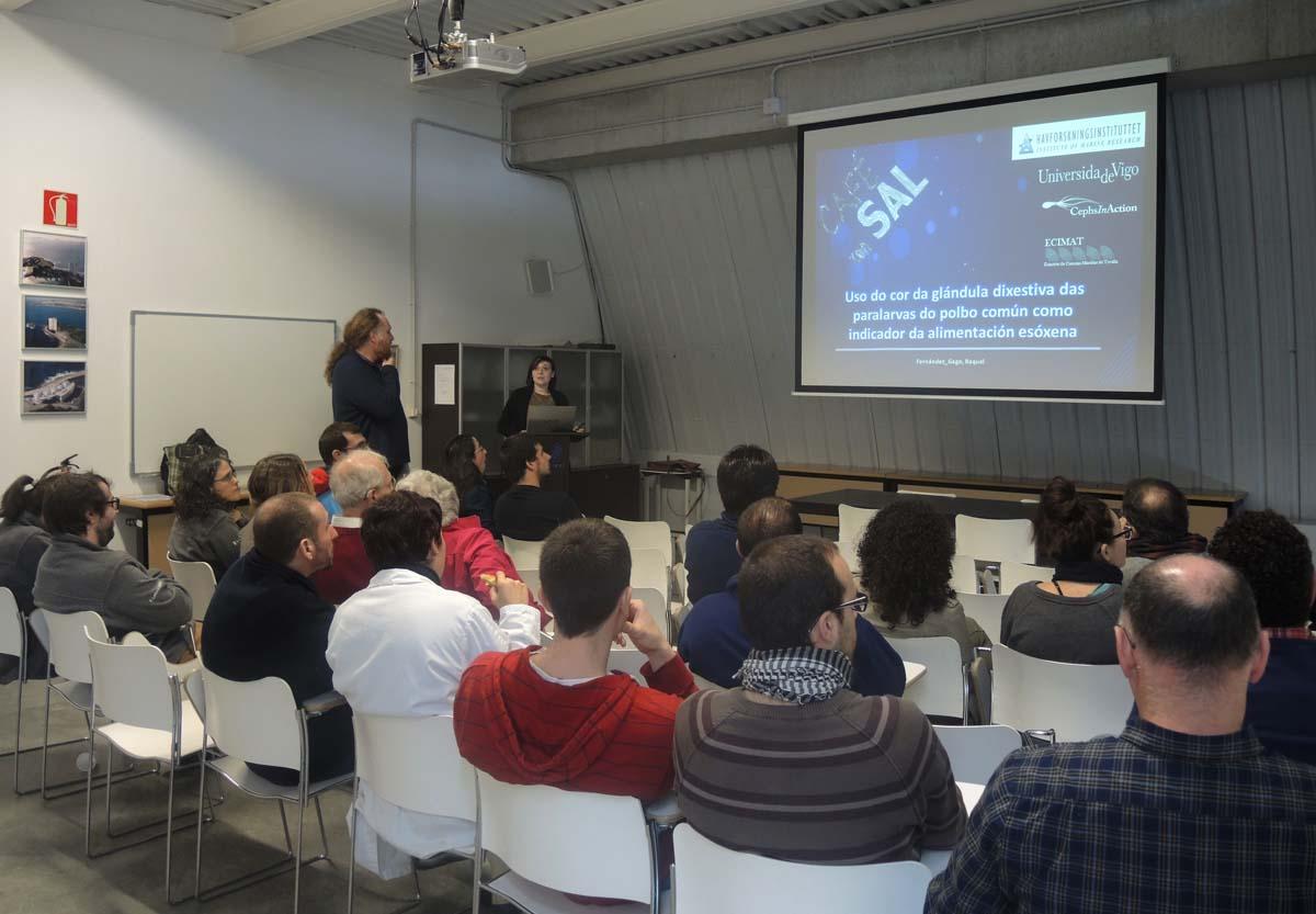 Presentación en Ecimat do proxecto Octowelf.