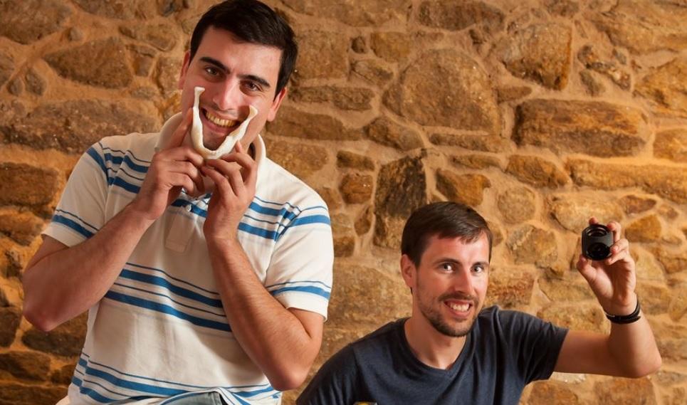 Adrián Sánchez e Luis Mandayo, creadores de Lupeón.