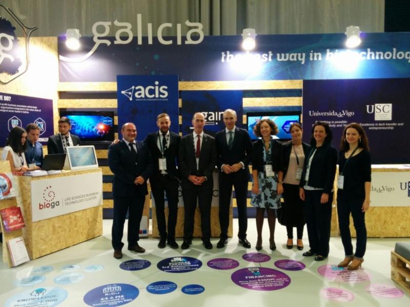 Delegación galega en BioSpain 2016.