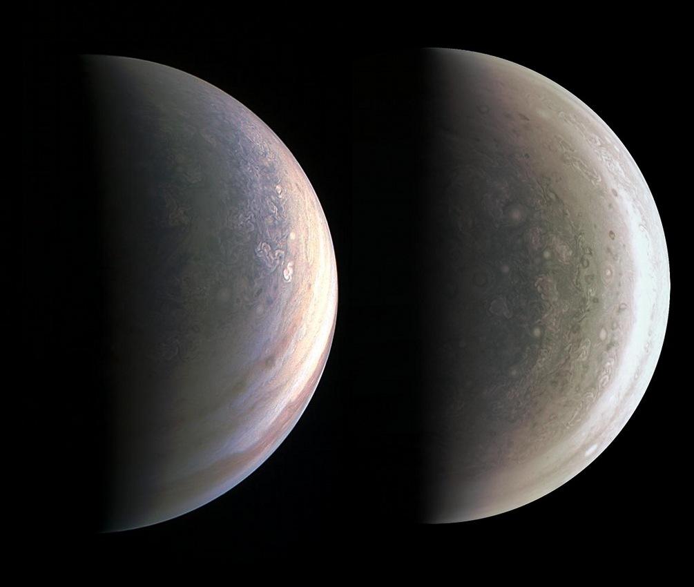 Créditos da imaxe: NASA, JPL, Juno Mission