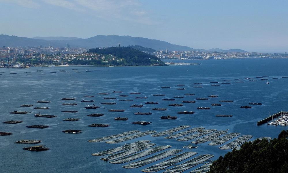 Bateas na ría de Vigo, obxecto do estudo da ECIMAT.