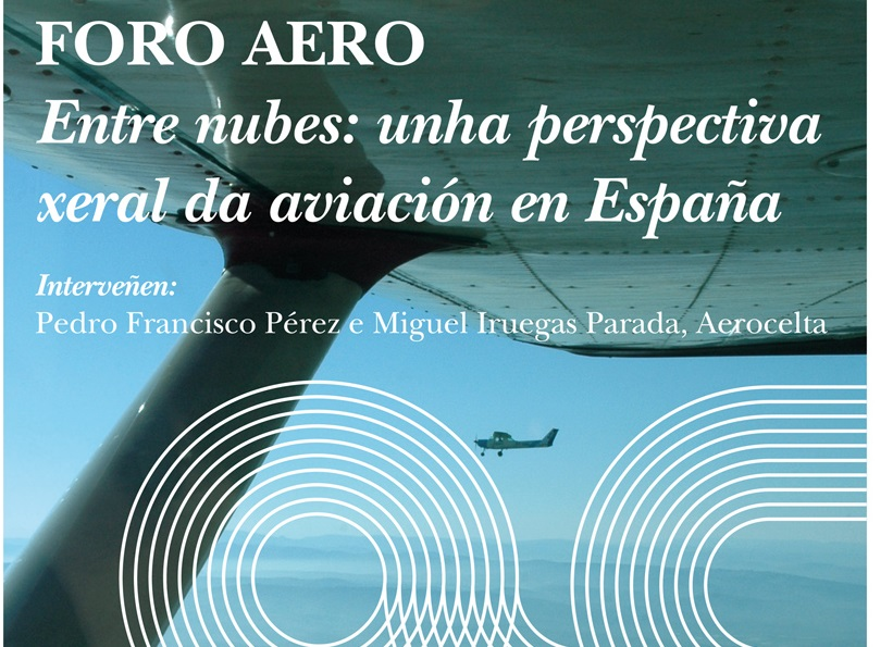 Cartel Conferencias Aeroespacial