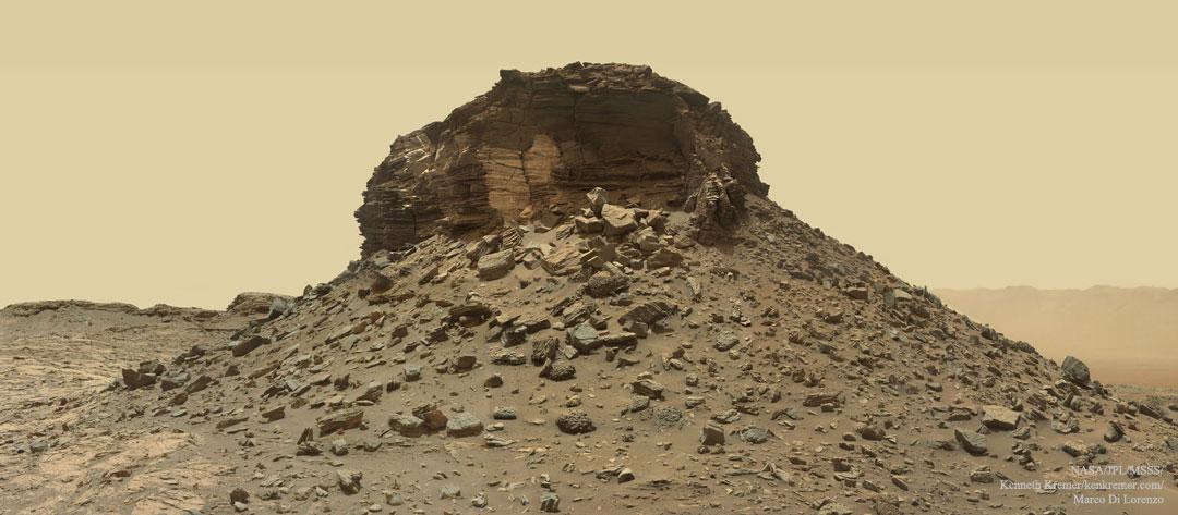 Créditos da imaxe: NASA, JPL-Caltech, MSSS; recompilado e procesado: Kenneth Kremer, Marco Di Lorenzo