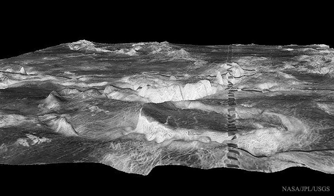 Créditos da imaxe: Magellan Spacecraft Team, USGS, NASA