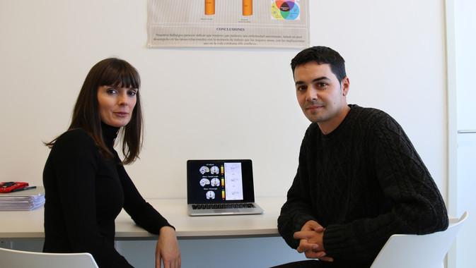 Raquel Vilar e Juan Verdejo, autores da investigación