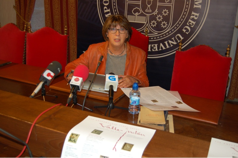 Margarita Santos, directora da Cátedra Valle-Inclán da USC.