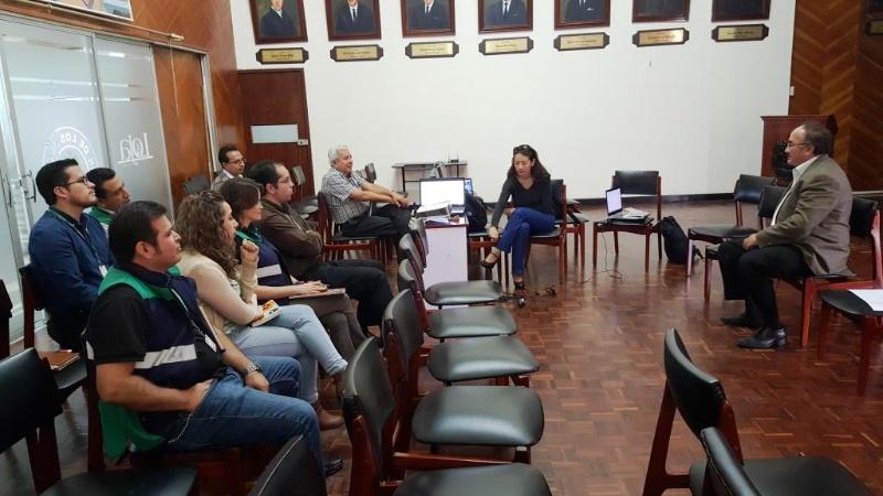 Reunión co grupo LaboraTe.