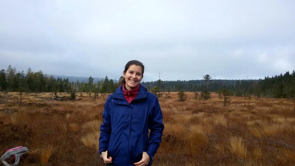 Marta Pérez desenvolve a súa tese con esta investigación na Patagonia.