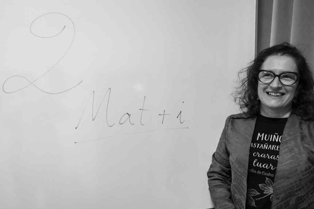 Elena Vázquez Cendón, investigadora do Grupo de Enxeñaría Matemática da USC.