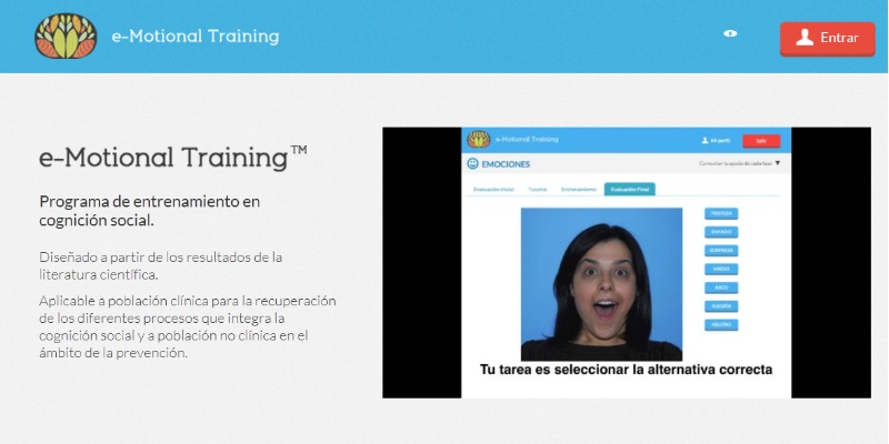 O programa e-Motional Training da USC.