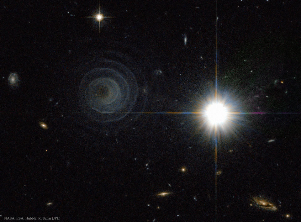 Créditos da imaxe: ESA, Hubble, R. Sahai (JPL), NASA