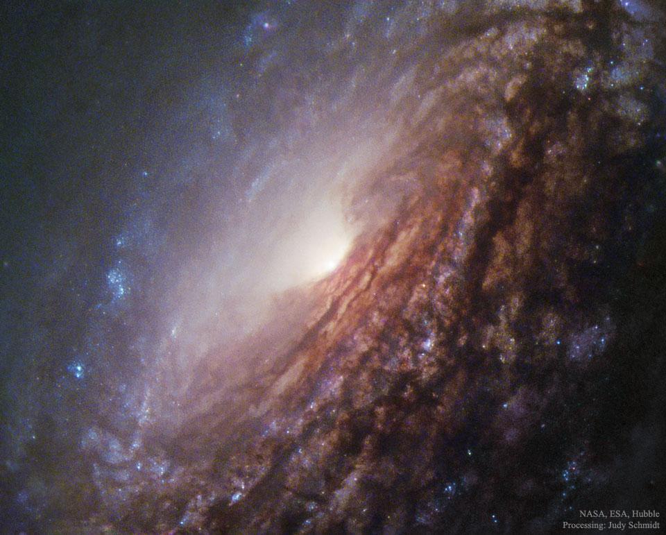 Créditos da imaxe: NASA, ESA, Hubble, MAST – Procesado: Judy Schmidt