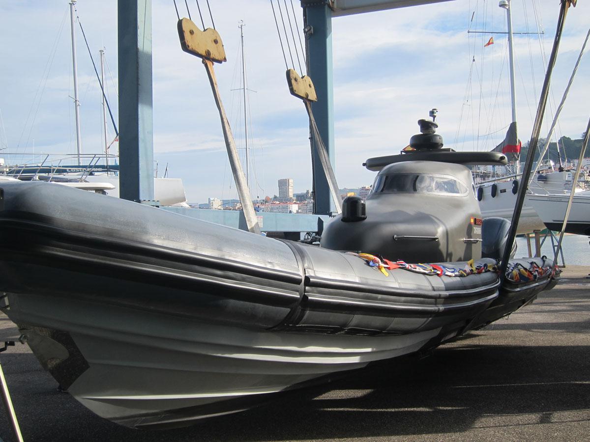 O dron mariño Victoria.