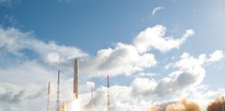 Lanzamiento del satélite europeo Alphasat, de la ESA, el pasado julio.