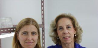 María Elena Corredoira e Ana María Vieitez