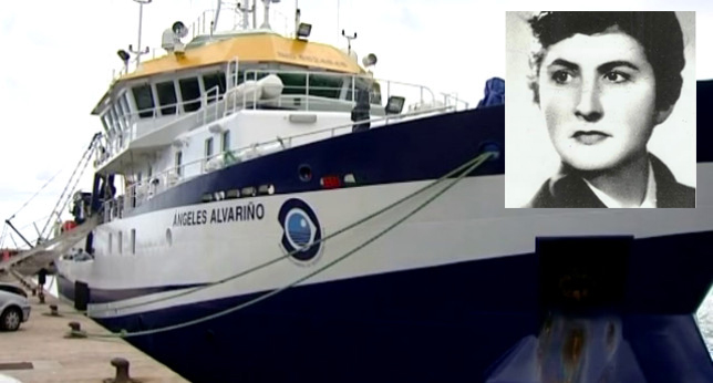 Ángeles Alvariño da nome a un buque oceanográfico do IEO.