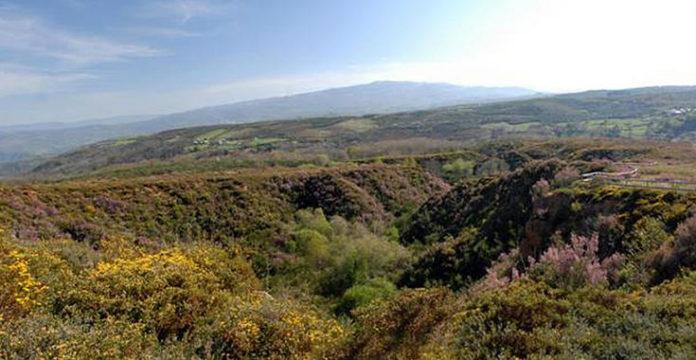 Mina de ouro de Os Biocos, en Ourense.