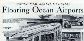 Proxecto de seadrome realizado por Edward Armstrong.