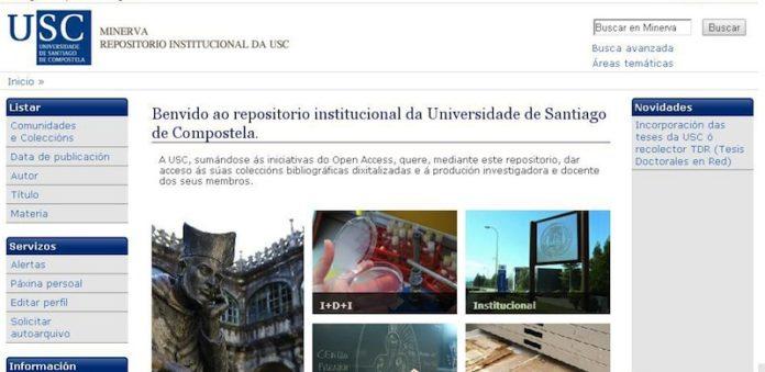 Repositorio institucional Minerva, da Universidade de Santiago.