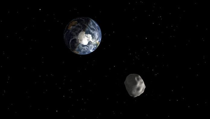 paso del asteroide 2012 DA14