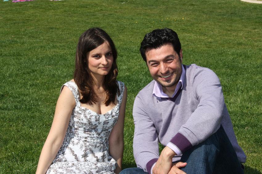 Beatriz Hervella y Carlos Fernández Balseiro
