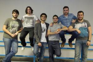 Alumnos de Vigo que participarán no proxecto Formula Student.