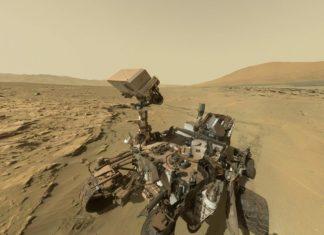 Curiosity en Marte.