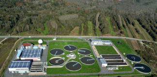 Depuradora de aguas residuales de Guillarei.