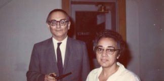 María Wonenburger e Paul Halmos