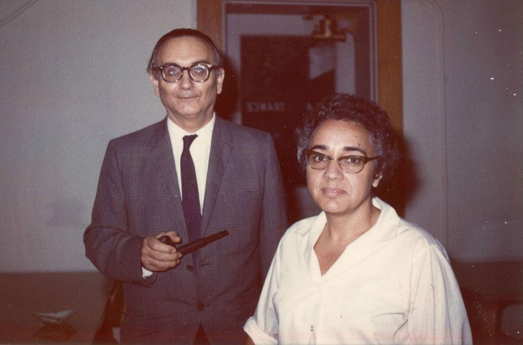 María Wonenburger e Paul Halmos