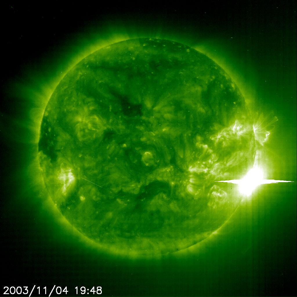 Explosión solar descomunal