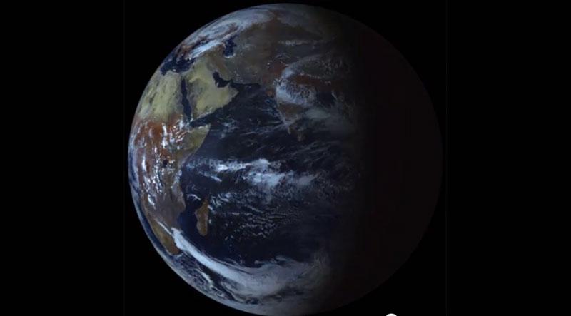 A Terra no equinoccio
