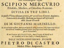 Detalle da portada dunha das obras do galego Pedro de Castro.