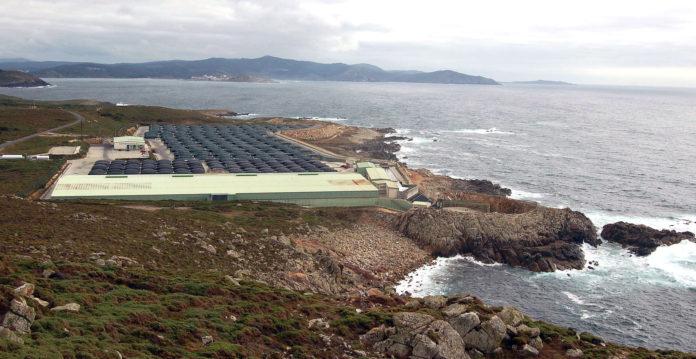 Piscifactoria en Cabo Vilán