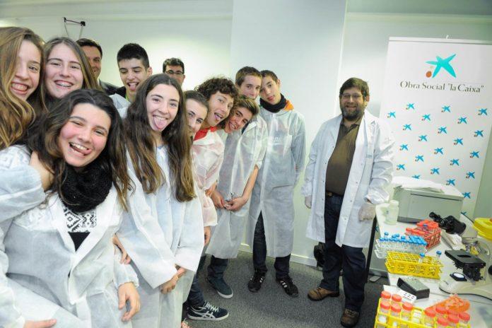 Alumnos participantes no programa Saca la Lengua