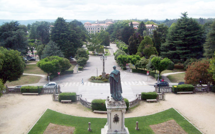 Campus de Santiago de Compostela.