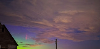 Estrelas, espectros, nubes, auroras