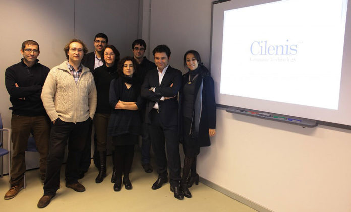 O equipo de Cilenis