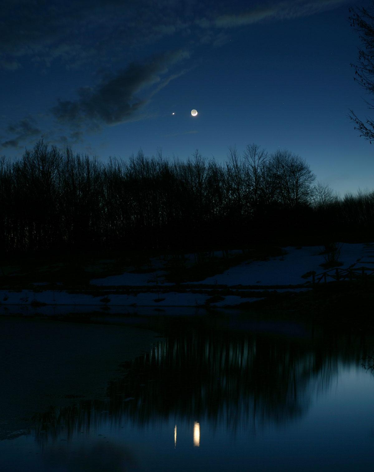 Conxunción no ceo do serán