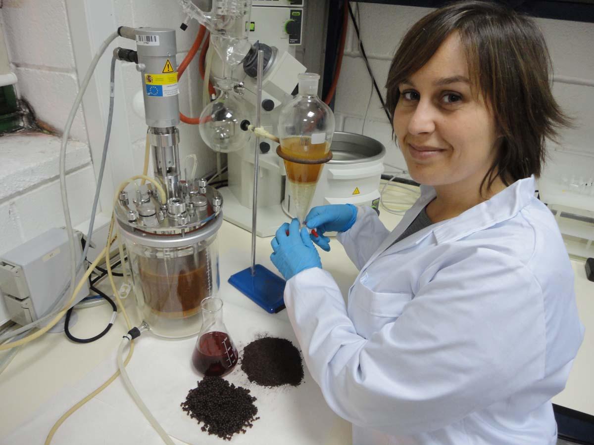 Xanel Vecino, investigadora de Enxeñería Química da Universidade de Vigo.