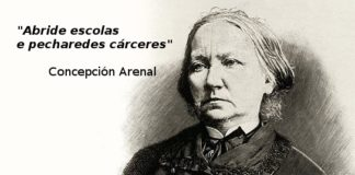 As frases de Concepción Arenal seguen a estar vixentes.