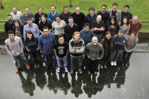 A representación da USC participará nos experimentos LHCb e Alice. Foto: Santi Alvite.
