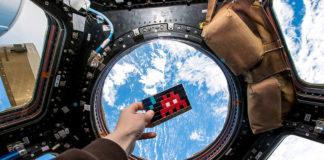 Space Invaders na Estación Espacial Internacional